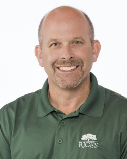 Rice's Landscaping President Bryan Rice