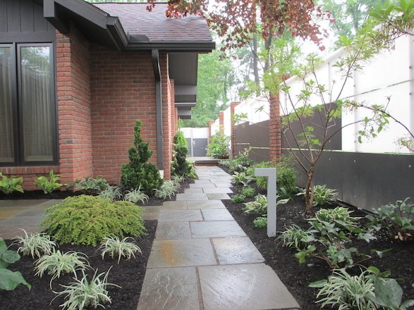 Create inviting transitions throughout your property with a beautiful walkway