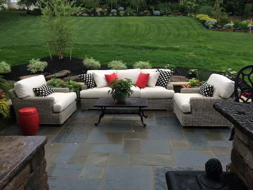 Custom Designed Patio